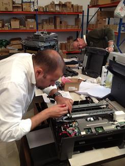 Servicio tecnico oficial en nuestras instalaciones Brother Malaga