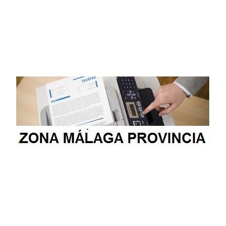 Instalación/configuración del equipo en Málaga Provincia